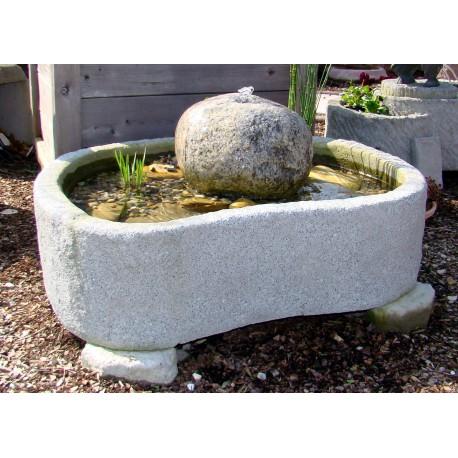 minteich quellstein wasserspiel brunnen wasserpflanzen. Black Bedroom Furniture Sets. Home Design Ideas
