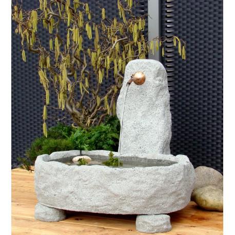 Schöpfbrunnen rustikal klein