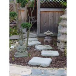 Polygonale Trittplatten Granitwerkstein